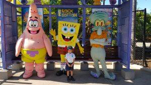 sponge bob at sea world