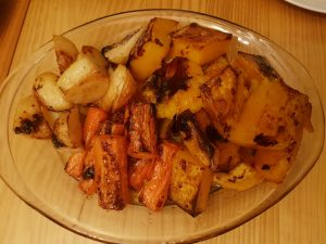 Roasted vegetables review